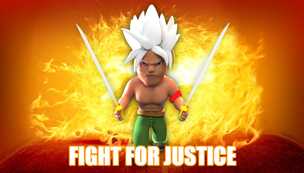 Fight of justice