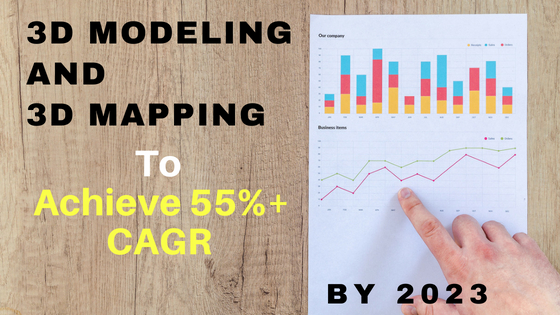 3D modeling and 3D mapping by 2023