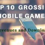 Top 10 Grossing Mobile Games – Revenues and Downloads