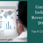 Gaming Industry Revenues in 2018 – Top 6 Contributors