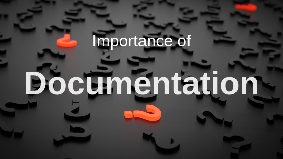 Documentation importance